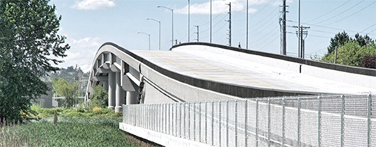 New Lincoln Avenue overpass