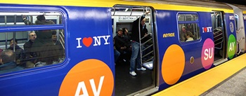 Second Avenue Subway - train