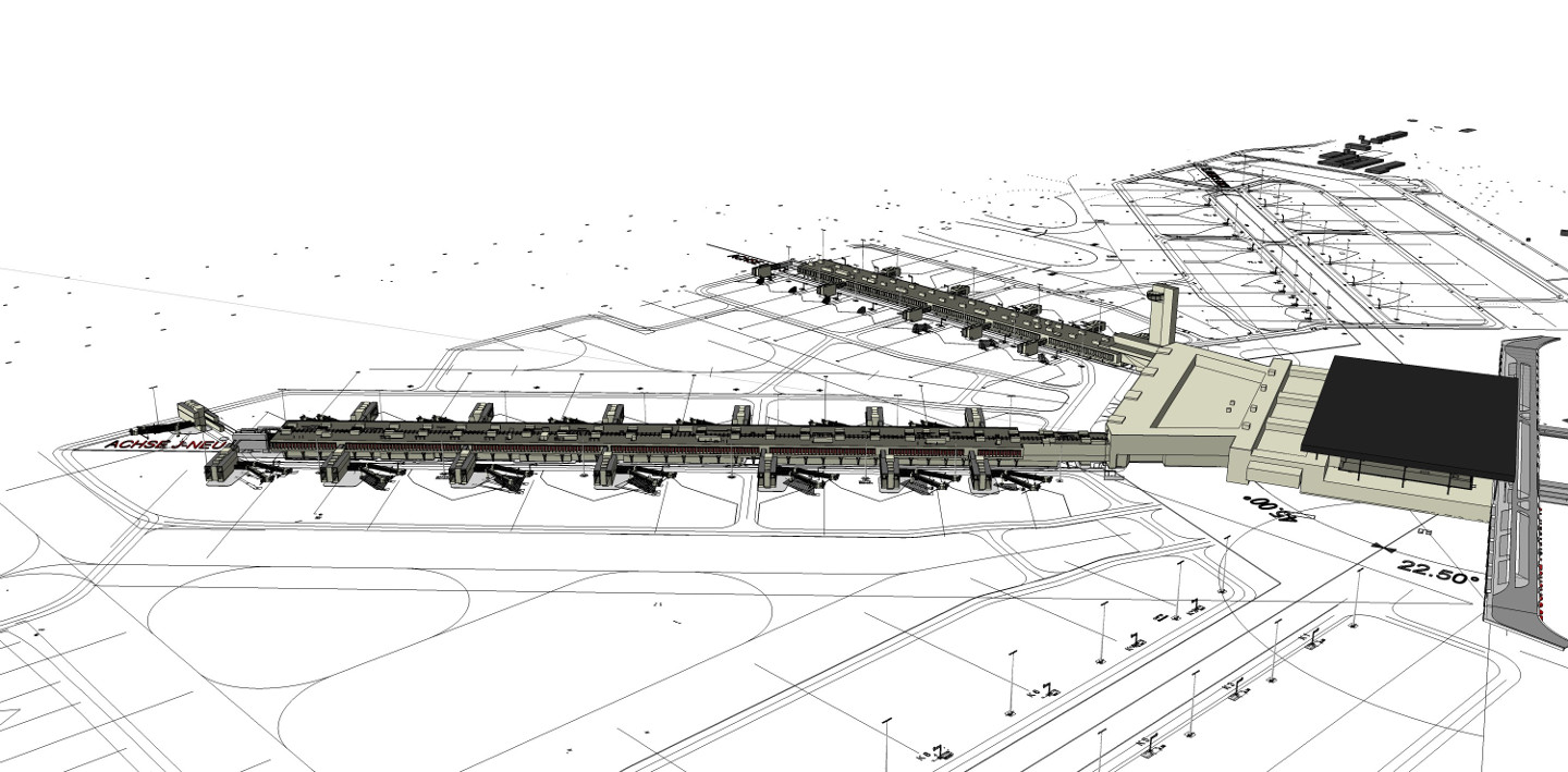 Fraport Terminal 3_Visualisierung