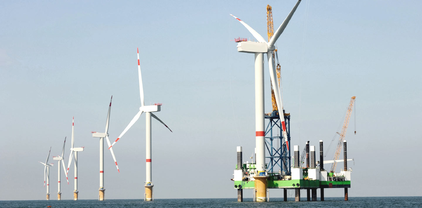 Maritime Marine Infrastructure Offshore Wind Structure