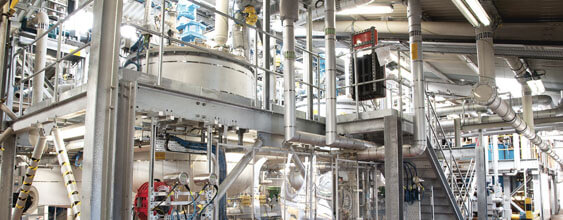 chemical manufacturing facility