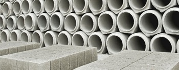 Concrete Blocks and Pipes